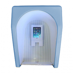 Orchid Telecom Acoustic Hood - Storacell T5000 With iPad Wedgewood